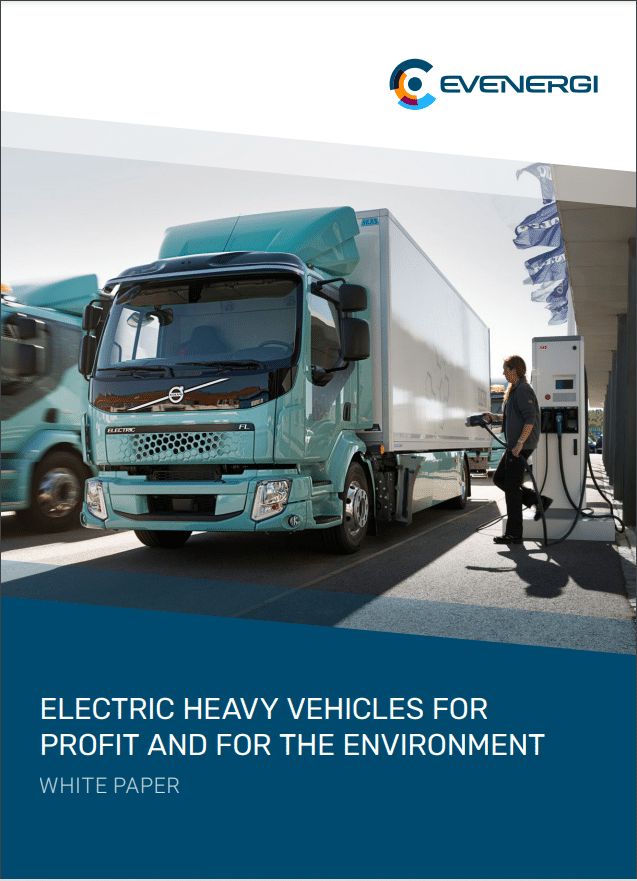 Electric heavy vehicles for profit and for the environment
